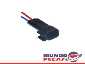 Chicote Bico Injetor Ecosport Ev6 - 2 Vias - Macho