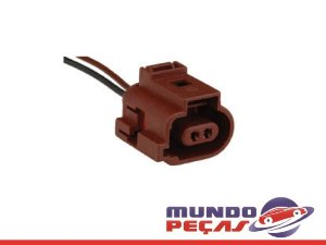 Chicote Aux. Compressor do Ar Condicionado Fox/vw - 2 Vias