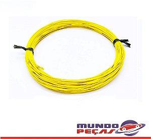 Fio Cabinho Flexível Cobre 0,35mm Amarelo Tc Cabos