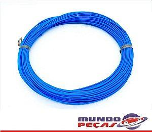 Fio Cabinho Flexível Cobre 0,50mm Azul TC Cabos
