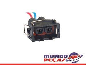 Chicote do Motor do Eletroventilador Gol G Iv 1.6 - 2 Vias - Fêmea