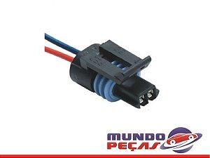 Chicote Sensor Temperatura Modulo Hei Monza Kadett Ipanema Efi - 2 Vias