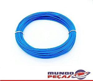 Fio Cabinho Flexível Cobre 1,00mm Azul TC Cabos