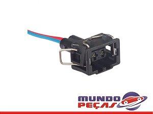 Chicote Lanterna Lateral Mercedes Artego - 2 Vias - Fêmea