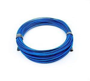 Fio Cabinho Flexível Listrado Azul/Preto 1,00mm Cobre TC CABOS