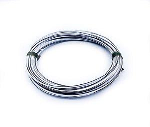 Fio Cabinho Flexível Listrado Branco/Preto 1,00mm Cobre TC CABOS