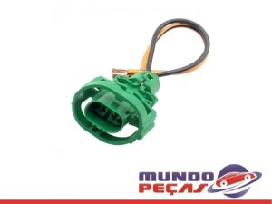 Chicote Sensor da Luz de Ré Clio Mégane Scénic Twingo - 2 Vias - Fêmea