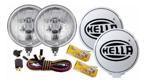 Par Farol Milha Auxiliar Off Road Kit - Hella Original