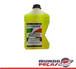 Aditivo Radiador Koube Concentrado Sintético Flex e Diesel Amarelo
