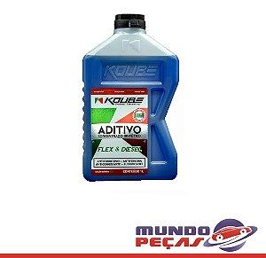 Aditivo Radiador Koube Concentrado Sintético Flex e Diesel Azul