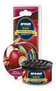 Aromatizante Carro Areon Ken Apple Cinnamon Maçã Canela Top
