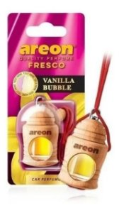 Aromatizante De Carro Areon Vanilla Bubble Chiclete Baunilha