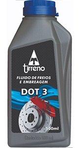 Fluido Para Freio E Embreagem Dot 3 Tirreno Tipo 3