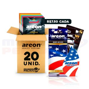 Aromatizante Automotivo Areon 20 UNIDADES
