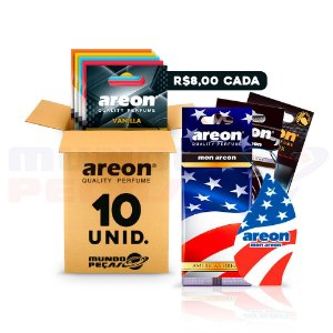 Aromatizante Automotivo Areon 10 UNIDADES