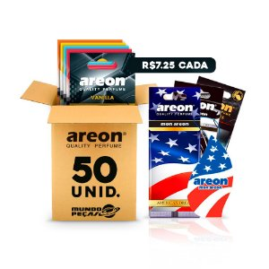 Aromatizante Automotivo Areon 50 UNIDADES