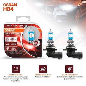Lampada Osram Night Breaker Laser Hb4 9006 Par 150% Luz