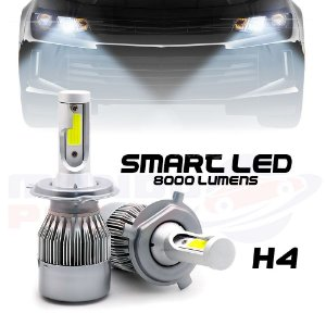 Lampada Smart Led H4 8000 Lumens Tay Tech