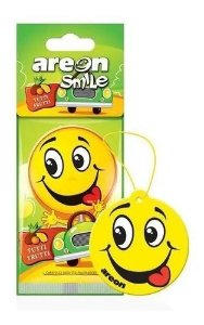 Aromatizante Automotivo Areon Smile Tutti Frutti O Melhor