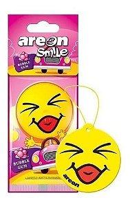 Aromatizante Automotivo Areon Smile Bubble Gum O Melhor