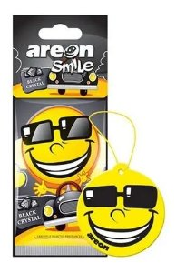 Aromatizante Automotivo Areon Smile Black Crystal O Melhor