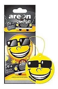 Aromatizante Automotivo Areon Smile Black Crystal O Melhor