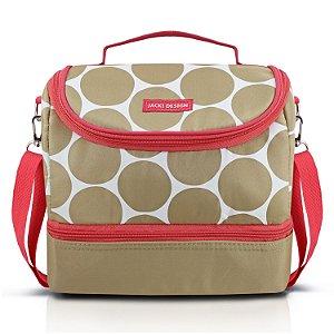 Bolsa Térmica com 2 Compartimentos Dots Jacki Design