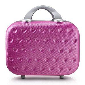 Frasqueira Love Coração Pink Jacki Design