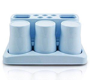 Kit de Banheiro com 5 Peças Lifestyle Jacki Design