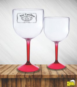 Taça De Gin Bicolor Personalizada 580 ml