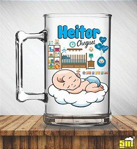 Canecas acrílicas 300 ml Maternidade Personalizadas