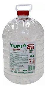 Álcool Gel Antisséptico 70° - Tupi 5 kg
