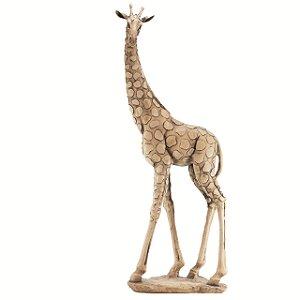 Girafa em pé grande