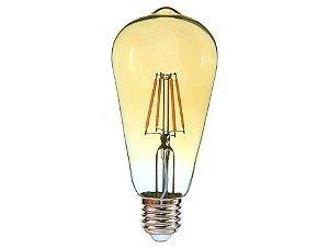 Lâmpada Led Filamento Vintage Pêra 4w 2400k E27