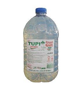 Álcool Gel Antisséptico 70° - Tupi 4,4 kg