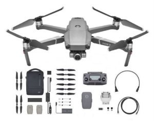 Drone DJI Mavic 2 Zoom (BR) - Fly More Combo Anatel