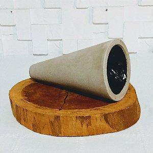Vaso rústico cone