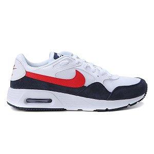 Tênis Nike Air Max Masculino Cor Branco/Vermelho