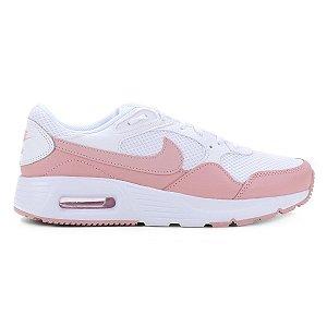 Tênis Nike Air Max Sc Feminino Cor Branco/Rosa