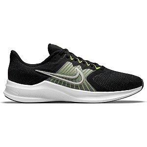 Tênis Nike Downshifter 11 Masculino Cor Preto/Verde
