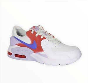 Tênis Nike Wmns Air Max Excee Feminino Cor Branco/Vermelho
