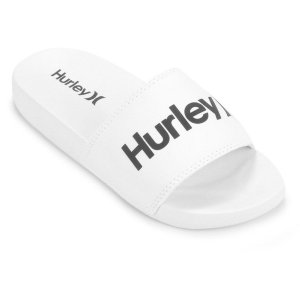 Chinelo Slide Hurley One&Only Masculino Cor  Branco