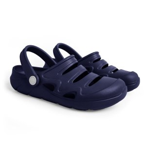 Sandália Clog Okean Infantil Masculino Cor Azul Marinho