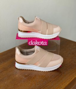Tênis Dakota Slip On Cor Aveia