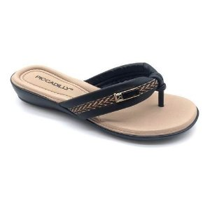 Chinelo Piccadilly Cor Preto