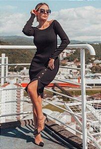 Vestido Ana Gonçalves - PRETO