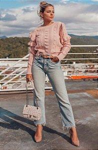 Blusa Ana Gonçalves - ROSE