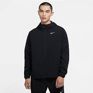 Jaqueta Nike Run Stripe Masculina Cor Preto