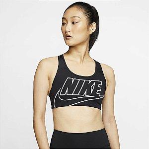 Top Nike Feminino Cor Preto/Branco