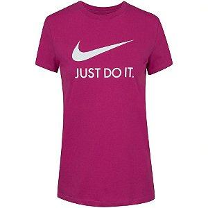Camiseta Nike Feminina Cor Rosa